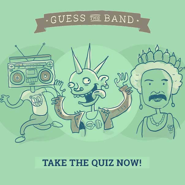 Guess The Band Quiz
