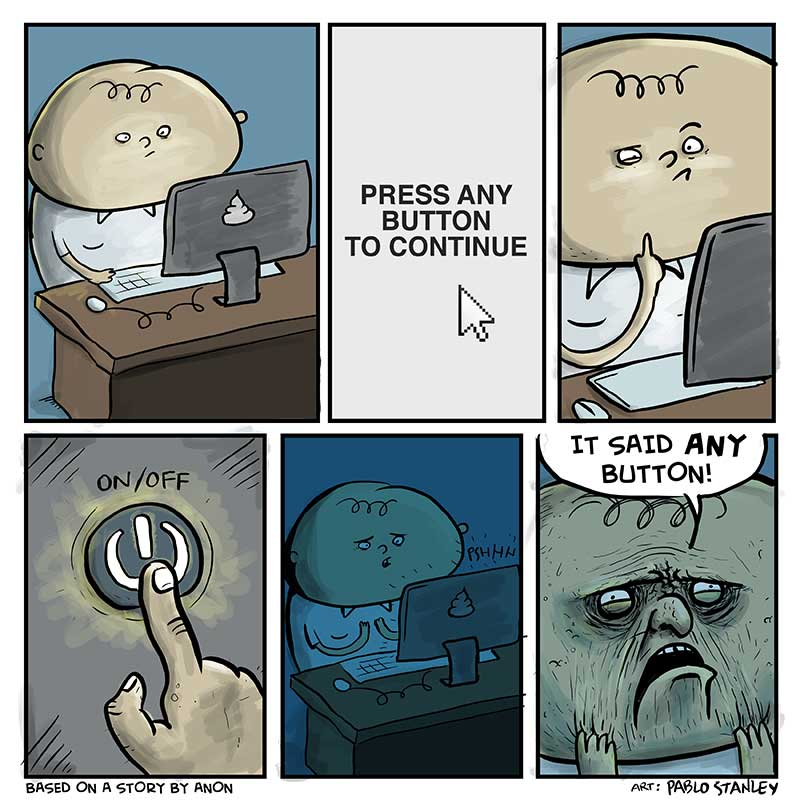 Press Any Butoon