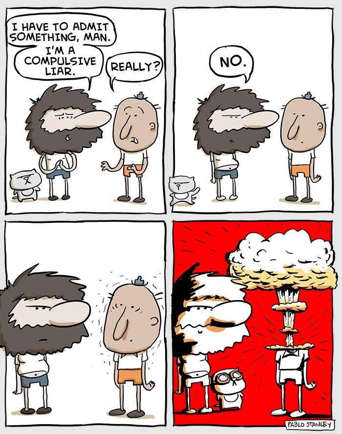 Compulsive Liar Paradox